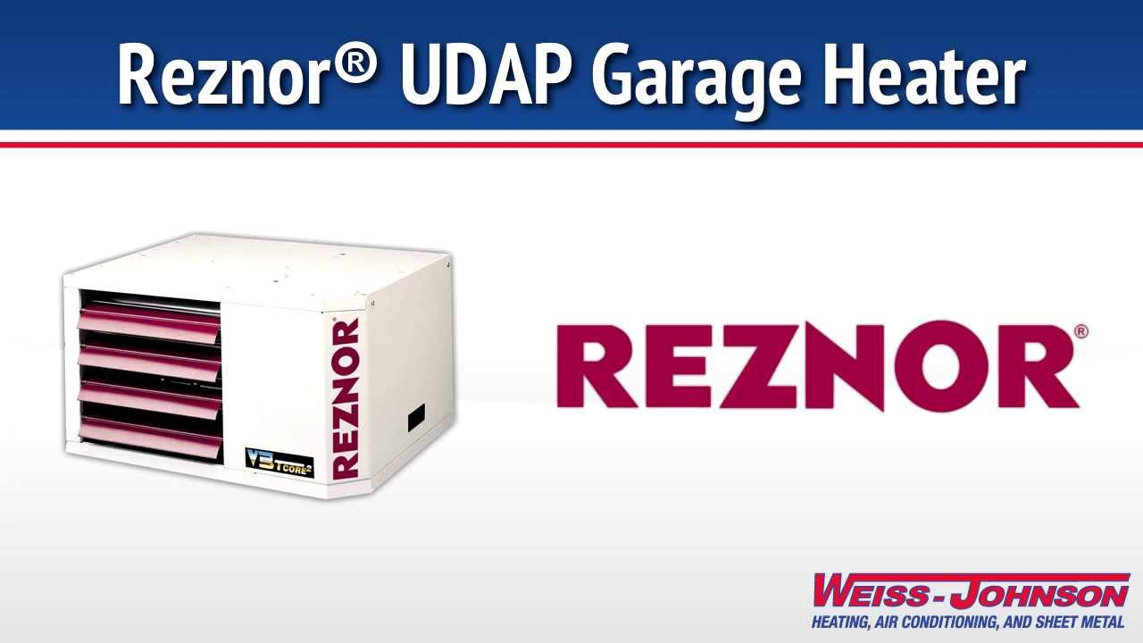 Reznor Udap Garage Heater Youtube