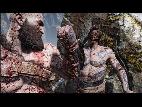 The Real Kratos Vs Baldur New Game+ - God Of War INSANE LEVEL OF GAMEPLAY!