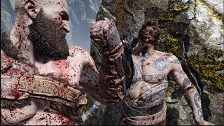 The Real Kratos vs Baldur New Game+ - God of War INSANE LEVEL OF GAMEPLAY!