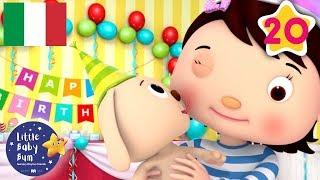 Canzone del compleanno | 20 Minuti di Canzoncine | Little Baby Bum Italia | #cartonianimati