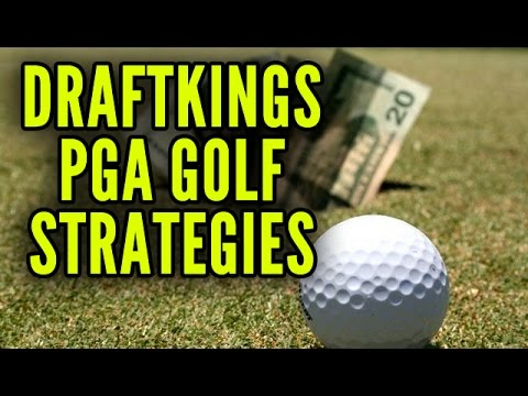 DraftKings PGA Golf Strategies And Tips For Winning