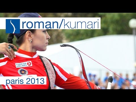 Roman v Kumari – Recurve Women's Quarterfinal |Paris 2013