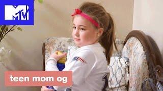 'Leah Puts The Star On The Christmas Tree' Deleted Scene   Teen Mom OG (Season 6B)   MTV
