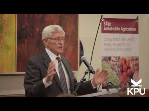 The Sustainable Food System Imperative - Change is Not Optional, It's Essential (October 19, 2013)