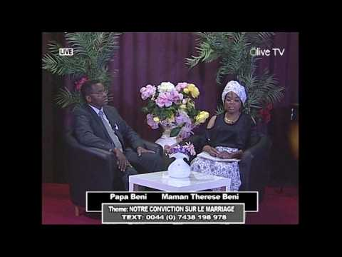 Emission Pour Femme : Host Mama Therese Avec Fr Beni / Theme : La Conviction Sur Le Marriage
