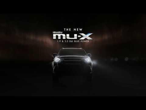 NEW ISUZU MU X BLUE POWER 2017 - Thai