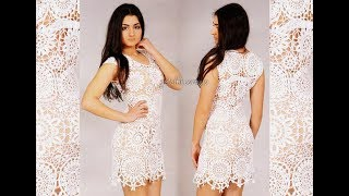 Вязание Платья Крючком 2018 / Knitting Dresses Crochet / Knitting Crochet Kleid