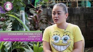 REH Ka Rey Kings Herbal Testimonial - Polycystic Ovary Syndrome (PCOS) Cheska Marie Obciana