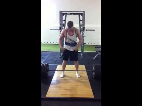 Gillz 260 kg deadlift, lightweight