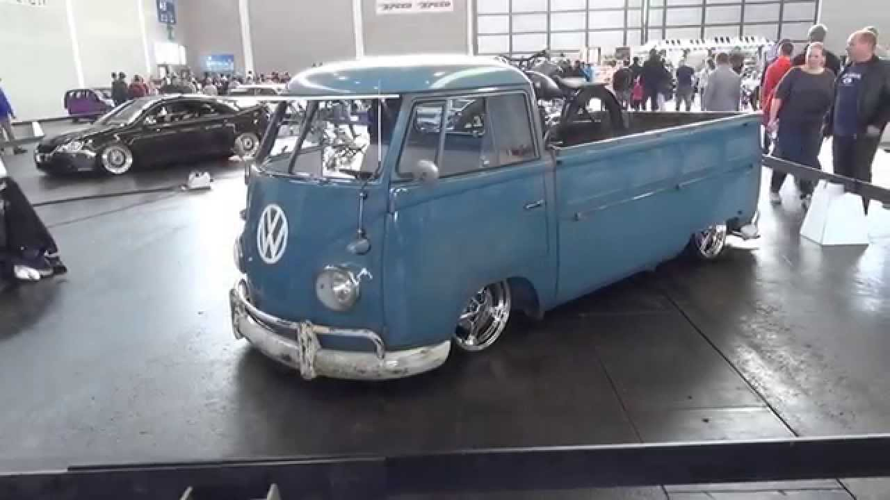 Classy 1948 VW Volkswagen Bulli T1 Pickup low slammed @TuningWorld - YouTube