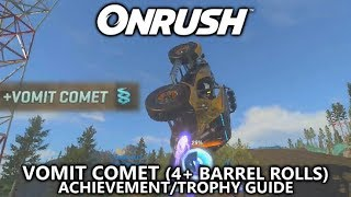 ONRUSH - Vomit Comet (4+ Barrel Rolls in One Jump) Achievement/Trophy Guide - Which way is up?