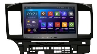 Installation guide of SYGAV Car Android Stereo for Mitsubishi Lancer