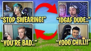 Fortnite Streamers FUNNIEST Trash Talk Moments! *HILARIOUS*