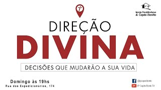 CULTO ONLINE - 08/11/2020 - Direção Divina