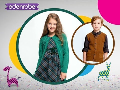 2d3dd88ba Latest Eden Robe Winter Collection For Kids - YouTube