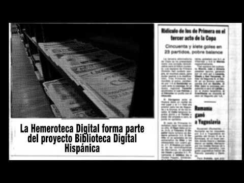 La Hemeroteca de la Biblioteca Nacional de España