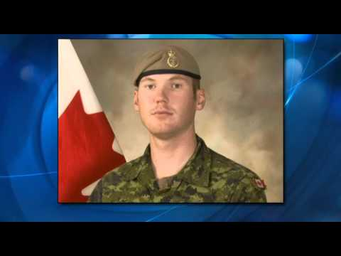 Canadian Soldier Returning Home