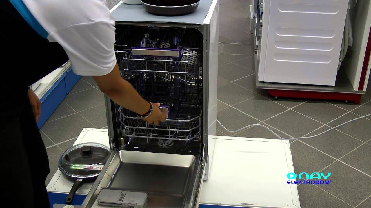 Sehr Umývačka riadu BEKO DIS 5935 FX - NAY Elektrodom - YouTube ZP17