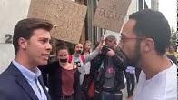 🚨 Valtonyc intenta agredir al presidente de VOX Gerona