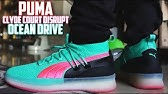 8ec04b8ab385 Puma Clyde Court Disrupt PURPLE GLOW Review and On-Feet ...