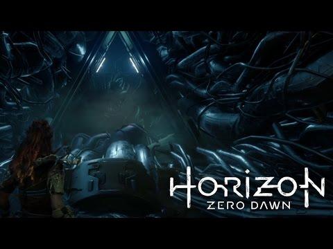 [ Horizon Zero Dawn ] Flying robots and my first cauldron - Part 4