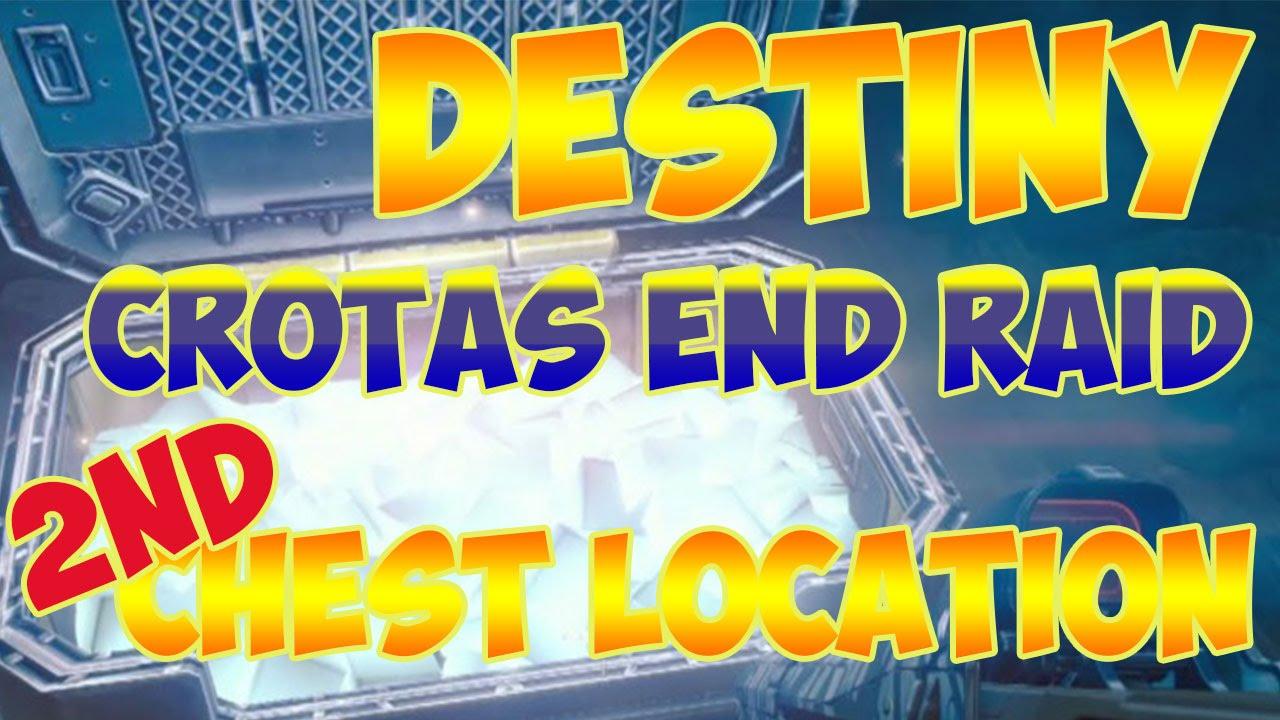 Destiny Dance Gif: Destiny: Crotas End SECOND HIDDEN Exotic Raid Chest