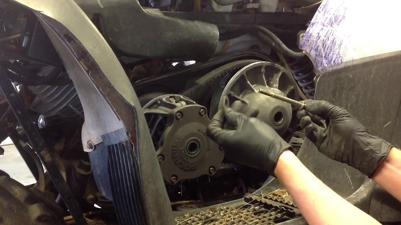 Watch BEFORE you PULL -ANY Polaris Clutch Rebuild - Belt Replacement  Primary Tool