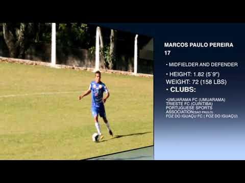 Marcos Paulo Pereira melhores lances