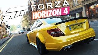Zagrajmy w FORZA HORIZON 4 PL #15 - MERCEDES C63 AMG W BODYKICIE! - Polski gameplay -  1440p
