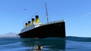 GTA 5 Mods RMS Titanic