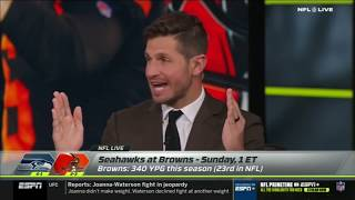 Seahawks vs Browns Week 6 Game Preview | NFL Live