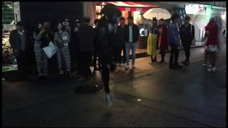 ハロウィンでブレイクダンス ヴェノムでやってみました。
