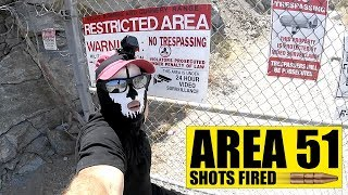 LICKING AREA 51 - WARNING SHOT FIRED - SIGN REMOVED!!