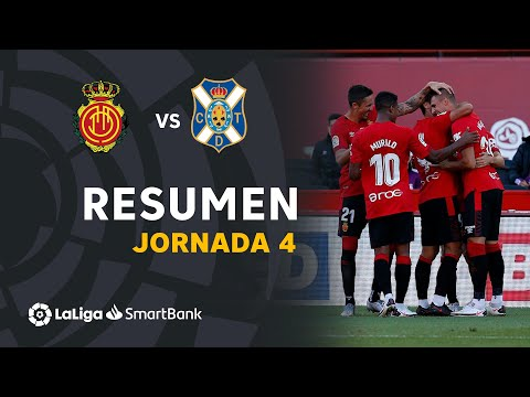 Mallorca Tenerife Goals And Highlights