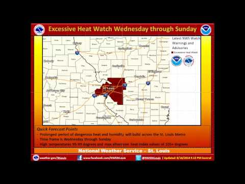 Weather Briefing for Dangerous Heat and Humidity