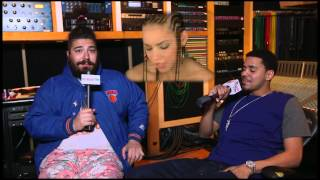 The Fat Jew Interviews J Cole