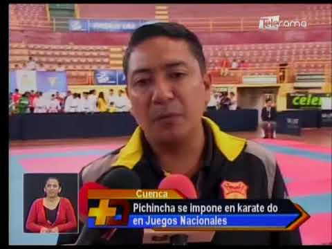 Pichincha se impone en karate do en juegos nacionales