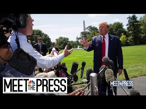 Trump Delivers On Promise To Disrupt And Discard Alliances | Meet The Press | NBC News