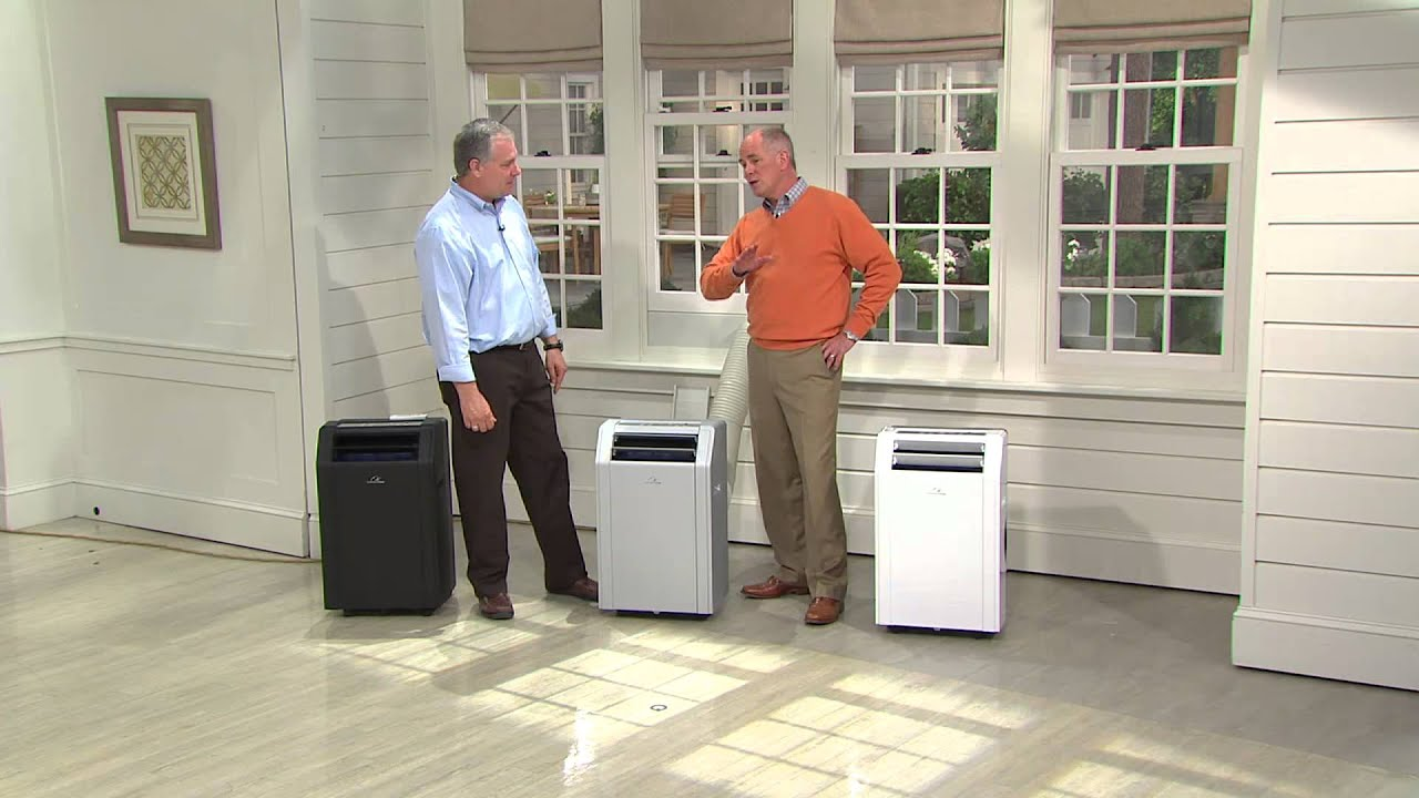 commercial cool btu portable air conditioner with timer with dan hughes - Commercial Cool Portable Air Conditioner