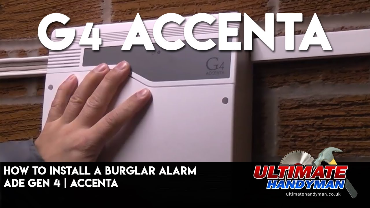 maxresdefault how to install a burglar alarm ade gen 4 accenta youtube honeywell ag6 bell box wiring diagram at crackthecode.co