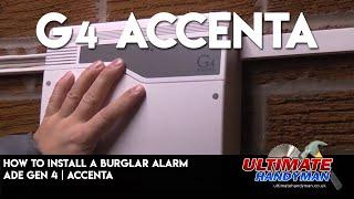 How to install a burglar alarm   ADE Gen 4   Accenta