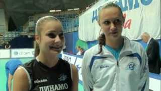 17.11.2012 Interview with Daria Chikrizova and Valeria Goncharova