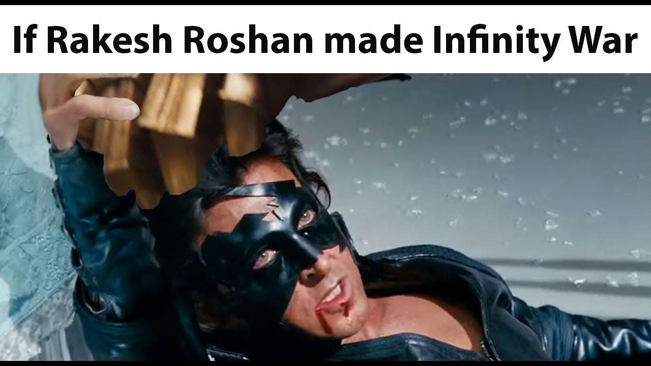 Download Avengers: Infinity War Trailer Starring Krrish. (Indian Parody)