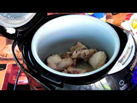 Как приготовить куриный суп в мультиварке поларис