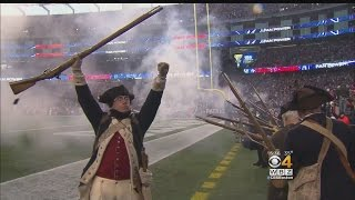 'End Zone Militia' Holds Down Fort At Gillette Stadium
