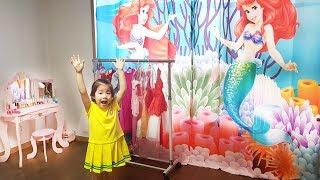 인어공주 방으로 바꿔볼까요?!! 서은이의 공주방 꾸미기 공주 침대 커텐 화장대 Decorating Mermaid Princess Room