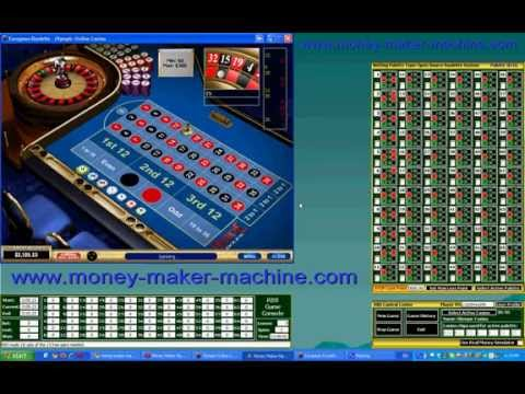 New Progressive Betting Roulette System Software MMM Deluxe Tutorial