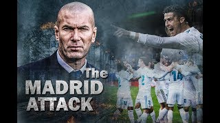 THE Real Madrid Attack 2018 🔥 Goals,Skills,Tackle ●HD
