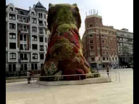 Guggenheim Bilbao: 12m Tall Floral Puppy