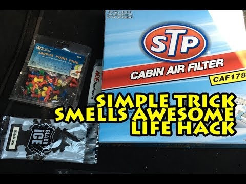 HOW TO MAKE YOUR CAR SMELL GOOD| SIMPLE TRICK | LIFE HACK